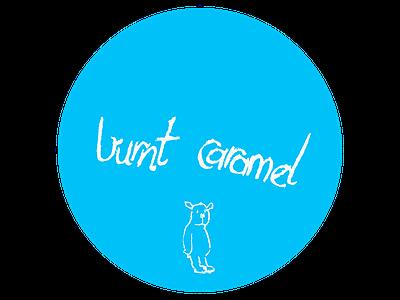 Burnt Caramel Insignia (Light Blue) insignia illustration blue
