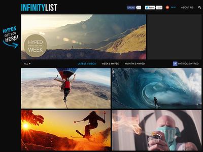 InfinityList.com May 2014 infinitylist website blog sports adventure inspiration video