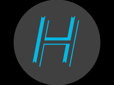 Hoverlytics Logo Concept hoverlytics logo analytics google blue