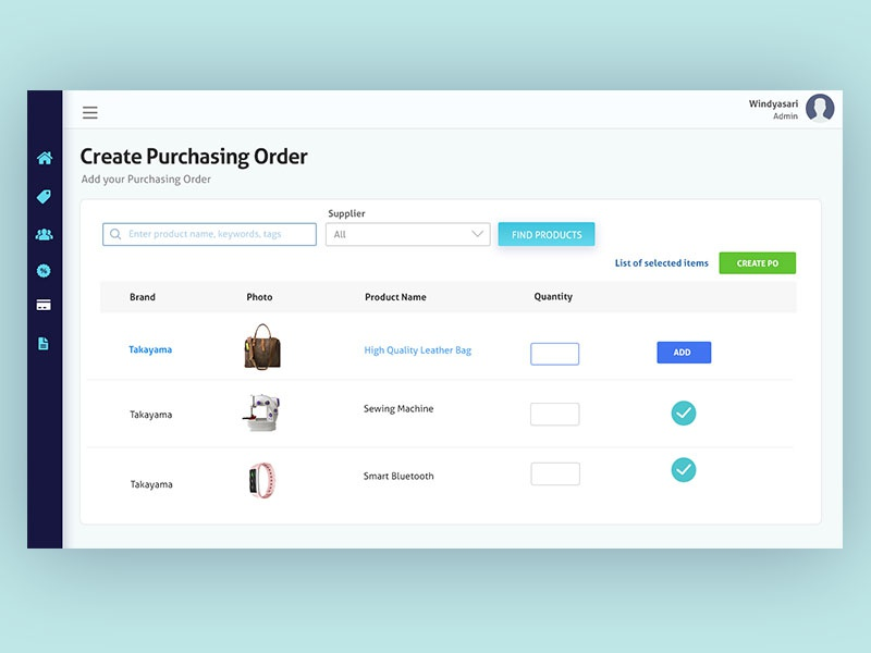 Pos point of sale web app by windyasari septriani - Web application home page design ...