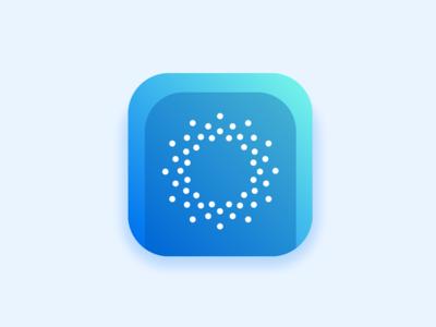 Daily UI #005 clear visual design visual  identity daily ui 005 app icon app icon design icon artwork design ui