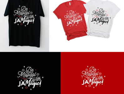 t-shirt project for JA Magicl t-shirt corporate icon modern vector design illustration branding logo