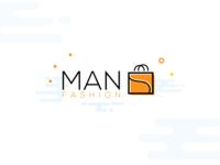 Man Fashion Logo Icon bag