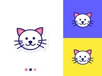 Smile Cat Head concept