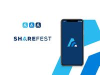 Event organizer logo and icon concept