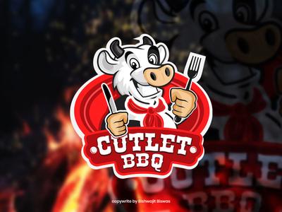 Restaurant mascot logo