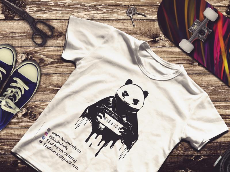 t-shirt brand new logo t-shirt t-shirts t-shirt mockup t-shirt design black illustrator photoshop corporate identity business corporate vector modern icon design logo branding illustration pandora pandas panda