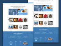 coffee Beanz website design