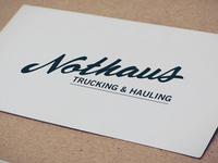 Nothaus Signage Drbb