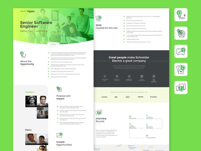 Schneider Opportunity Profile Page