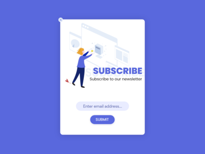 Daily UI 026 Subscribe