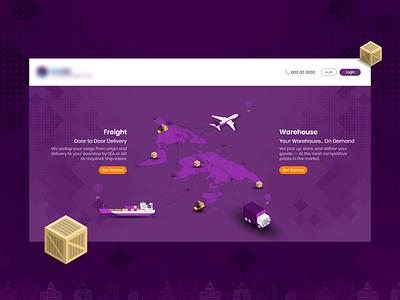 Web Site branding illustration design colorful