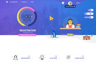Website for School management