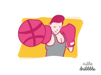 Hello Dribbble - The Knockout