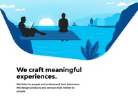 We Craft meaningful experiences - Caffeina XD Contest