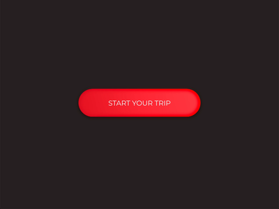 Mini Ghost Button Animation start trip ui floating hover loop interaction ghost flat app animation button