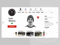 User Profile Redesign for Street League Site