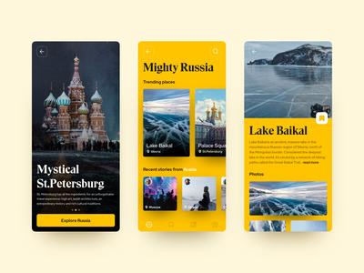 Travelguide Concept App
