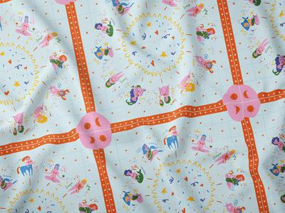 Fabric 'Zodiac'