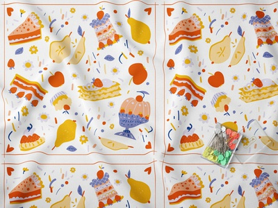 Fabric 'Cakes'