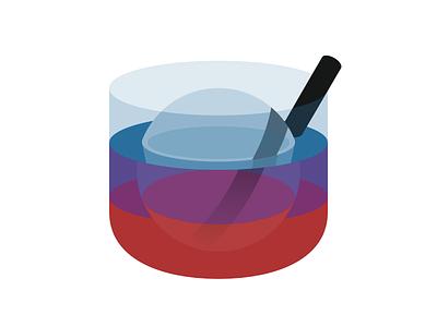 Lush Logo Redesign app drink icon logo
