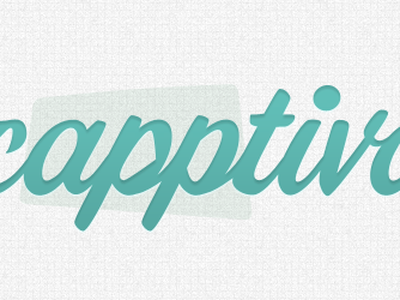 logo for capptivate.me capptivate me