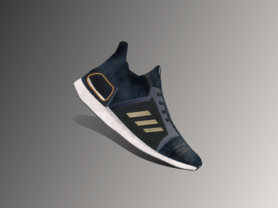 Vectober 29 - Shoe inktober inktober2020 vectober running shoe shoes ultraboost adidas illustration design