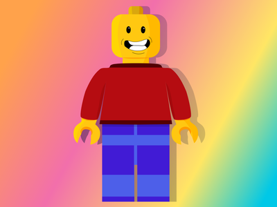 Lego Man lego illustration design