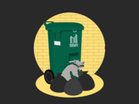 Toronto Trash Panda