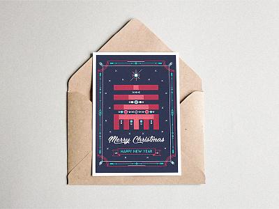 Thursday fun postcard colours vectors stikleryte auste milliondirtyways christmas