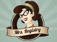 Mrs. Registry Logo