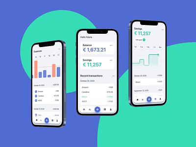 Budgeting app budget finance mobile app design ux user interface ui design