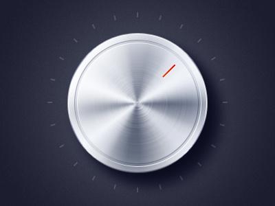 late night practice dial metal radial knob volume