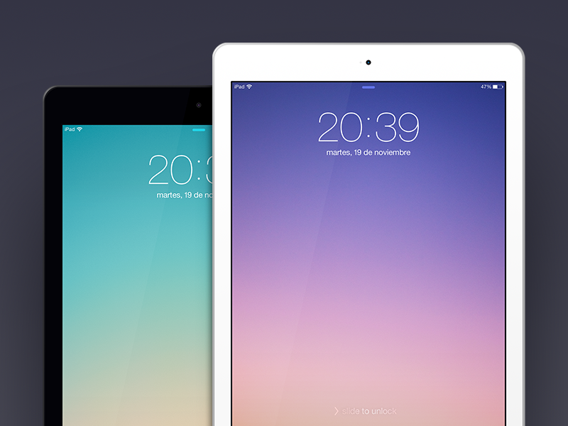 iPad Air Template ipad ipad air ios mockup template psd