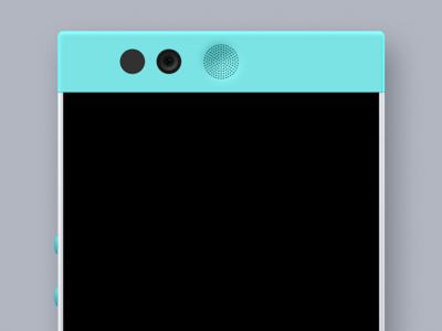 (PSD) Robin Mint mockup android phone device template robin psd mockup