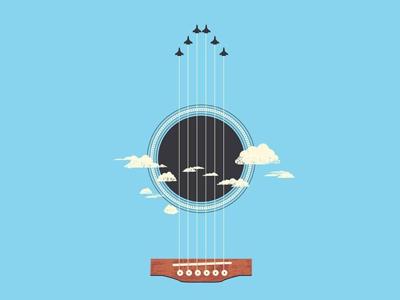 Guitar creative