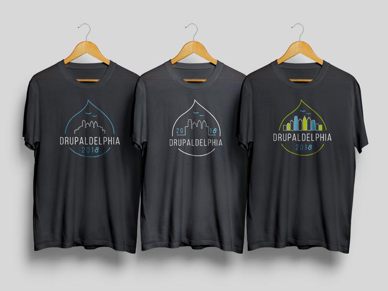 Drupaldelphia shirt dribbble
