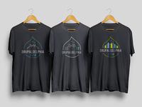 Drupaldelphia T-Shirt Design Concepts