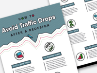 Avoiding Traffic Drops Infographic