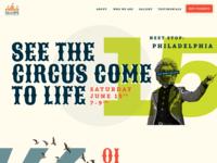 Calliope Bros. Circus Site