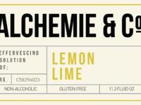 Alchemie label yellow