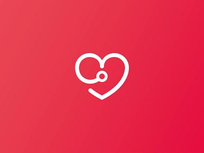 Cardiology logo design illustration lineart logodesigner logodesign logo heartlogo heart health healtcare cardiology