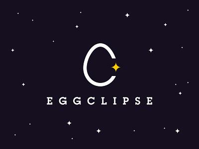 Eggclipse - brunch bar logo design branding logo design illustrator logodesign logo illustration vector solar eclipse eclipse restaurant brunch breakfast eggs egg
