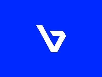BV monogram - personal logo illustrator illustration vector personal project personal brand personal logo personal branding brand logodesigner logodesign logo graphicdesign shapes lettermark letters logo letters bvmonogram bvlogo bv