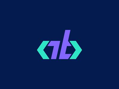 AB monogram - Front-end developer logo design programmer website programming coding code sitebuild ab emblem monogram logo monogram abmonogram frontend development frontend webdevelopment webdeveloper illustrator branding vector logodesign logo