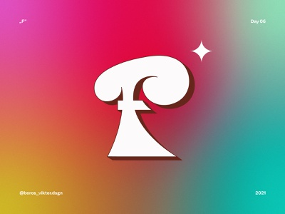 "36 days of type: letter ""f"" colorfull bold dance disco funky funk typography art typography type lettering 36days-f f-letter lettering art letter f 36 days of type lettering 36daysoftype 36 days 36 days of type illustration f"