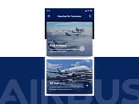 Airbus Newsfeed App