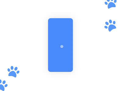 "Pet-sitting App "" SitMyPet"" ios android app design cat dog animals pets interaction design prototype animation animation user experience design ui ux"