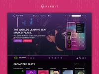 Airbit website redesign