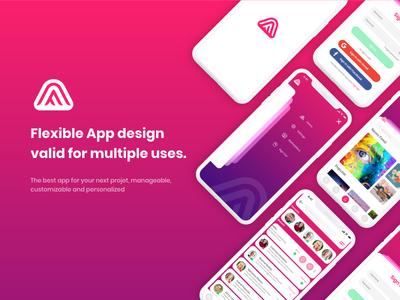 Social App social app app user experience user interface design ux ui
